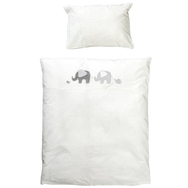 Kinderbettwäsche Elefanties 100x135 Von Dänisches Bettenlager