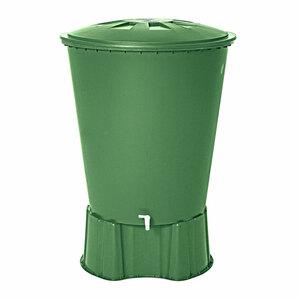 Regentonne 310 L rund, grün