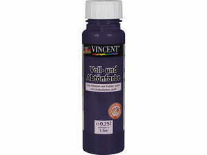 Vincent              Voll- und Abtönfarbe violett, 0,25 L