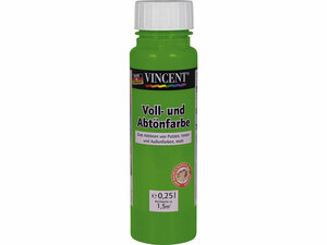 Vincent              Voll- und Abtönfarbe grasgrün, 0,25 L