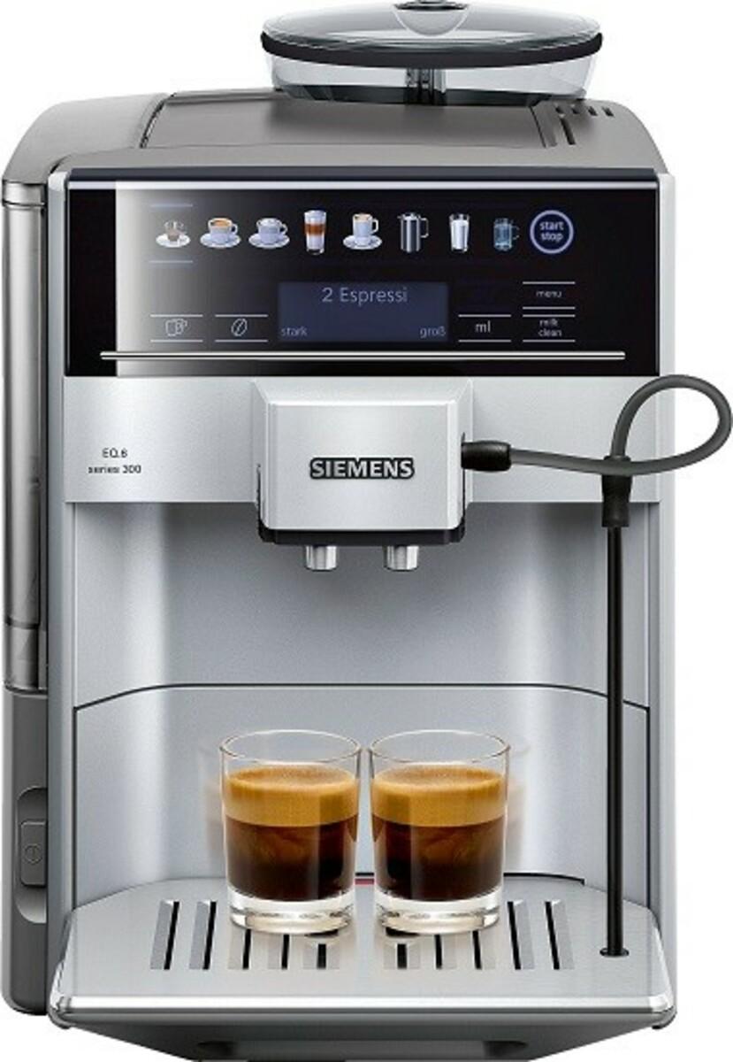 Bild 1 von Siemens Kaffeevollautomat EQ.6 | B-Ware - Vorführgerät - der Artikel ist technisch einwandfrei - kann Gebrauchsspuren aufweisen