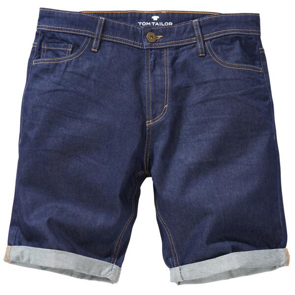 Herren Jeans Short im 5 Pocket-Stil