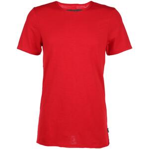 Herren Basic Shirt mit offenen Kanten