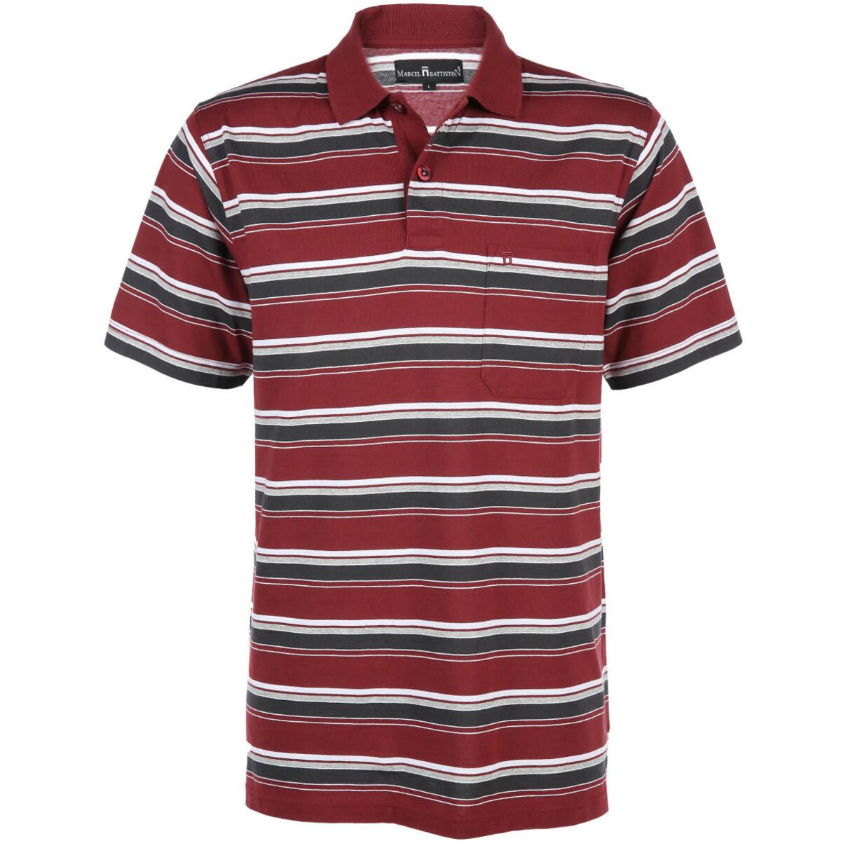 Bild 1 von Herren Poloshirt in Streifen Optik