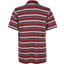 Bild 2 von Herren Poloshirt in Streifen Optik
