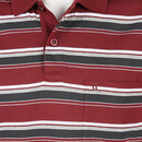 Bild 3 von Herren Poloshirt in Streifen Optik