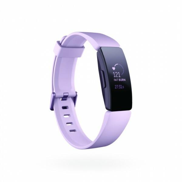 Fitbit Fitnessarmband Inspire HR, lila ,  kontinuierliche Herzfrequenzmessung