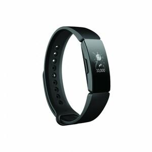 Fitbit Fitnessarmband Inspire HR, schwarz ,  kontinuierliche Herzfrequenzmessung