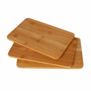 Bambusholz-Frühstücksbrettchen 3er-Set