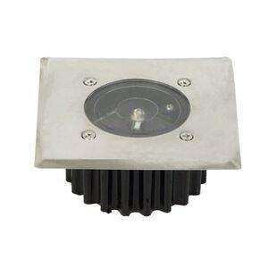 LED-Solar-Bodeneinbauleuchte 8,5x8,5cm