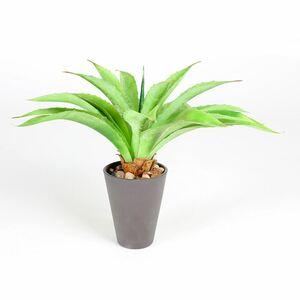 Künstliche Aloe Vera im Kunststofftopf 23cm