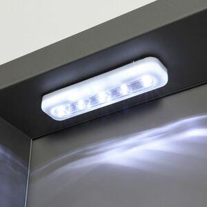 LED-Push-Licht selbstklebend weiß