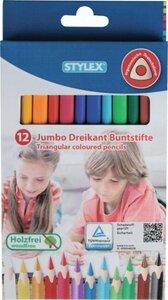 Jumbo Dreikant Buntstifte