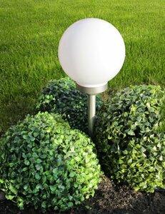 LED Solar Gartenkugel