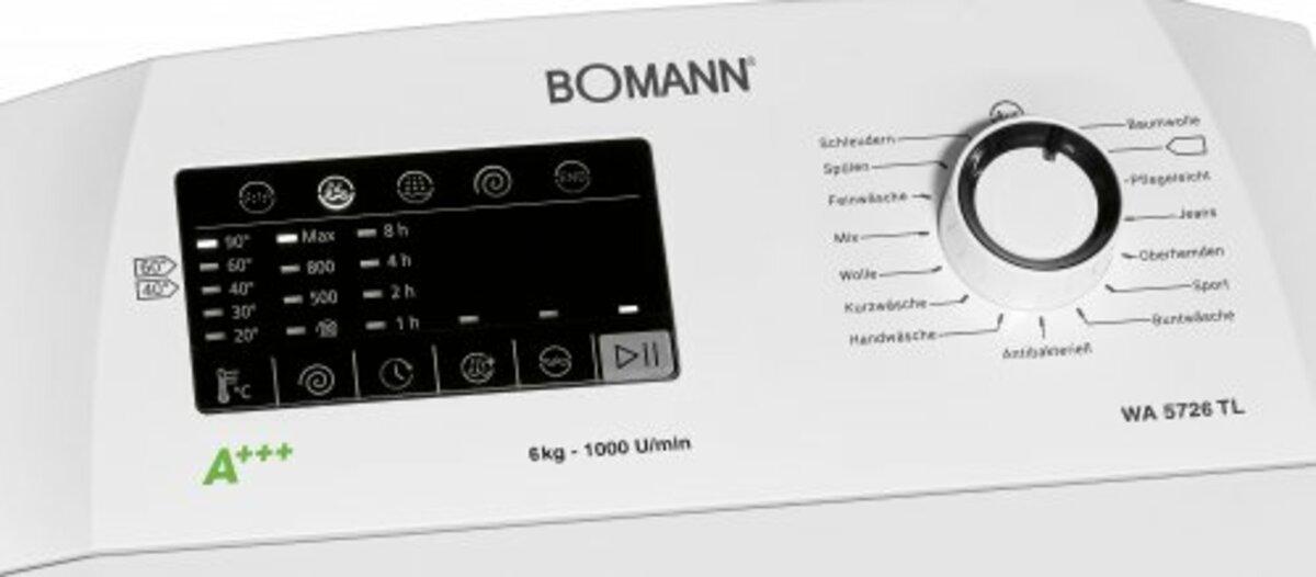 Bild 3 von Bomann Waschmaschine Top Lader WA 5726 TL