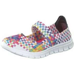Inspired Shoes Spangenballerina Damen bunt