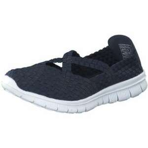 Inspired Shoes Spangenballerina Damen blau