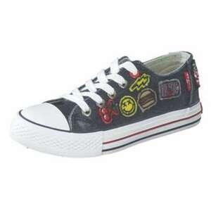 Levi´s Trucker Patches low Sneaker Mädchen|Jungen blau