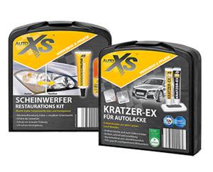 AUTO XS®  Kratzer-Entferner-Set oder Scheinwerfer-Restaurations-Kit