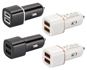 AUTO XS®  Dual-Port-USB-Autoladegerät