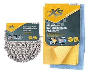 AUTO XS®  Microfaser Premium Autopflegetücher