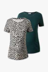 Yessica         Umstands-T-Shirt - 2er Pack