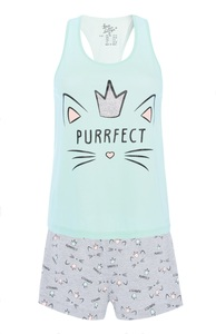 """Purrfect"" Pyjamaset"