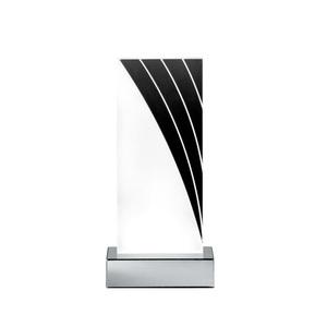RL LED Tischlampe STAN 2 20,5 cm chromfarbig/weiß