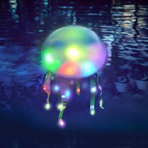 Schwimmobjekt Qualle, leuchtet, D:27cm x H:65cm