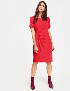 Kleid mit seitlichem Drapée