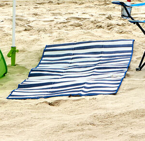 Home Strandmatte zur Tragetasche faltbar, ca. 80x190cm