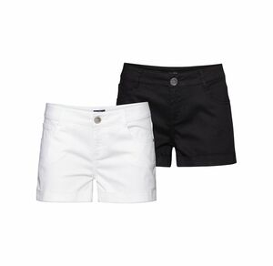 Laura Torelli COLLECTION Damen-Shorts im 5-Pocket-Style