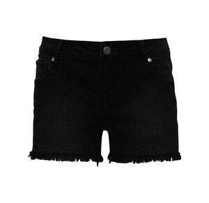 Laura Torelli Young Fashion Damen-Shorts mit trendigen Fransen