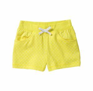 Kids Mädchen-Shorts mit Punkte-Muster