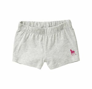 Kids Mädchen-Shorts in Melange-Optik