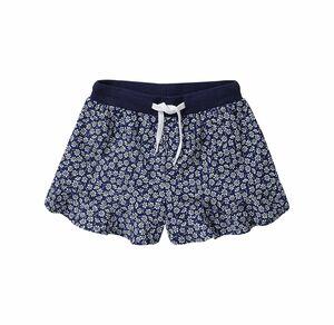 Kids Mädchen-Shorts mit Blümchen-Muster