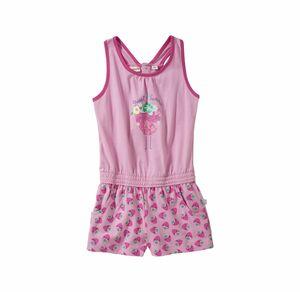 Liegelind Baby-Mädchen-Jumpsuit mit Erdbeer-Muster