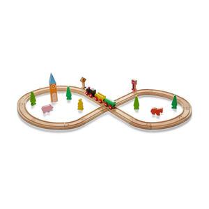 My Baby Lou SPIELZUG Holzeisenbahn, Mehrfarbig