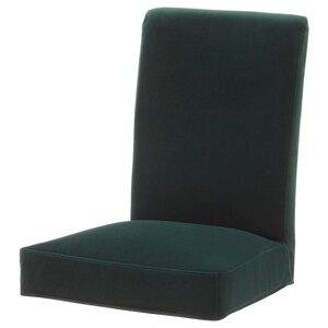 HENRIKSDAL                                Stuhlbezug, Djuparp dunkelgrün