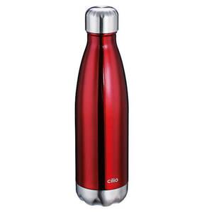 """cilio             Isoliertrinkflasche """"Elegante"""", 500 ml, rot"""