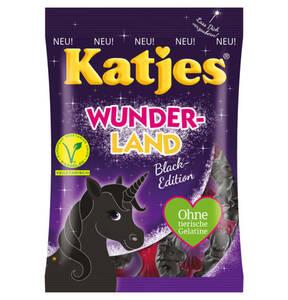 KATJES             Katjes-Wunderland Black Edition, 200g                 (3 Stück)
