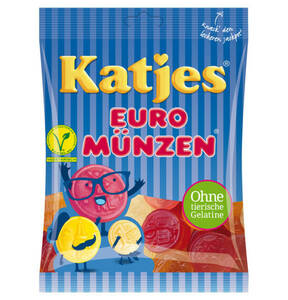 KATJES             Euro Münzen                 (10 Stück)