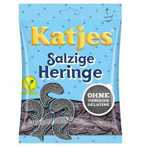 KATJES             Salzige Heringe                 (4 Stück)
