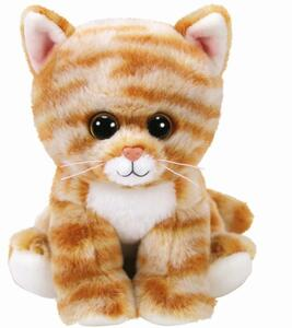 TY Beanie Babies Cleo Katze getigert 15cm