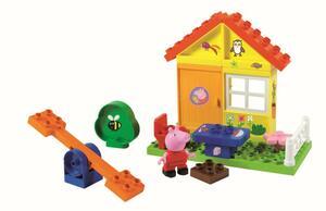 PlayBIG BLOXX Peppa Wutz Gartenhaus