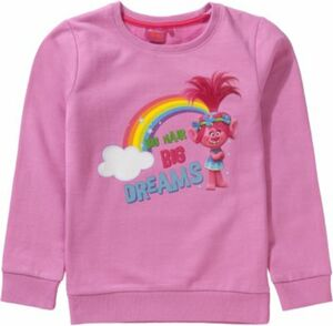 Trolls Sweatshirt Gr. 128/134 Mädchen Kinder