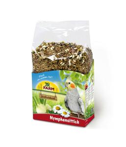 JR Farm Birds Premium Vogelfutter für Nymphensittiche, 1 kg