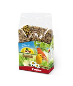 JR Farm Birds Premium für Kanarien, Vogelfutter, 1 kg