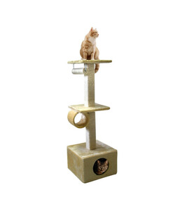 "Silvio Design Kratzbaum ""Cats World"", beige"