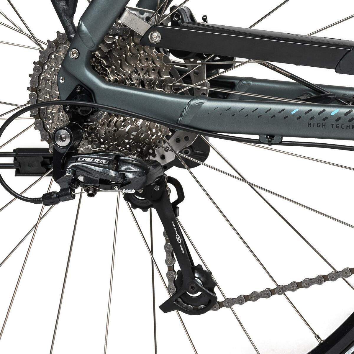 Bild 5 von E-Bike 28 Trekkingrad Riverside 500 Damen Performance Line 400Wh grau/blau